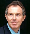 Blair: being intereviewed on Al Jazeera