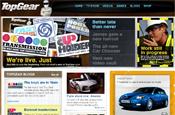 Top Gear: relaunch web site