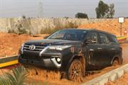 Toyota stages 'Fortuner Experiential Drive Camp' in India