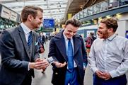 Britain's Got Talent winner Richard Jones performs at Manchester Piccadilly