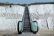 UKIP: ad campaign focuses on the issue of border controls