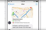 Facebook users in select locations in the US can now request an Uber via Messenger (YouTube/Uber)