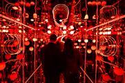 Vodafone creates infinity mirror experience