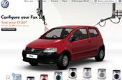 Volkswagen: new online configurator