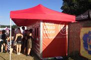 Virgin Media opted for a selfie-style activation at V Festival last month