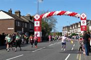 Virgin Money stages interactive fundraising lounge ahead of London Marathon