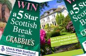 Visit Scotland: Crabbie's Green Ginger Wine promotion