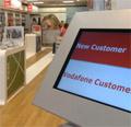 Vodafone: store refit