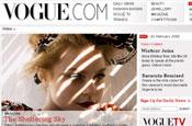 Vogue.com: CondeNet relaunches fashion site