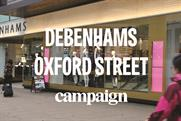 Debenhams seeks to make customers feel 'Christmassy' with in-store experience