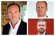 (l-r) Jeremy Rees, Dan Thurlow and Dominic Fleming join AEV board