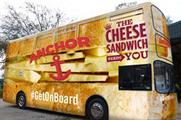 The Anchor Cheddar bus tour has been created by the brand and agency Why Not
