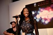 Jamelia performs at Somerset House for Avon UK event