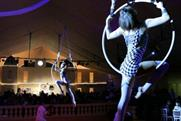 Best Parties Ever's Midnight in Monte Carlo theme features acrobatics