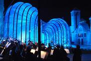Chamber orchestra Britten Sinfonia at Bombay Sapphire distillery event