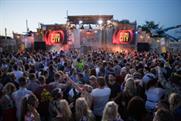 Festival-goers soak up the atmosphere at Desperados' Detonate Moment