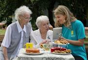 June Whitfield hosts special EE Techy Tea Party