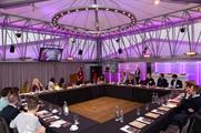 Industry representatives at the Event Awards rountable at The Deck