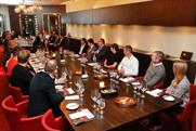 Agency guests at Event's MASH London lunch