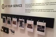 Gleneagles' anniversary exhibition includes flip charts and doorbells