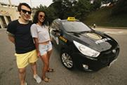 Hyundai's World Cup taxis will offer free lifts to football fans in Brazil