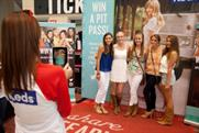 Taylor Swift fans get snapped at Keds pop-up store