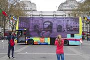 Curb's TV bus hits the streets of London this month