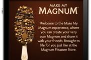 Karmarama's mobile app complements the Magnum face-to-face activity