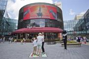 An interactive version of Monopoly at Westfield Stratford