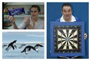 April Fool's pranks: floating chocolate, flying penguins and a square darts board