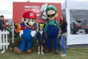 Mario and Luigi featured at Nintendo's Lollibop activation