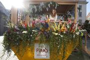 Millie Macintosh in one of Pimm's pimped-up skips