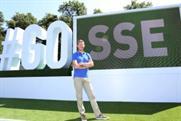 SSE's #GO selfie installation in Glasgow