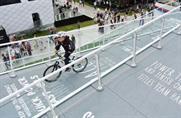 Škoda UK's Goodwood presence featuring cycling ramps and simulators
