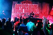 Space has created branded spaces for Desperados for two UK festivals