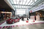One of the Vauxhall ADAM experiences themed around Valentine's Day