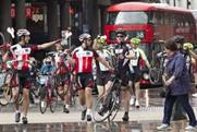 Dave's 'lost' cyclists travelled around London during the Tour de France