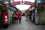 Vodafone's 1984G Street focused on the 1980s in the modern day