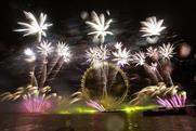 Vodafone's multi-sensory fireworks display in London 2013/14