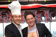 Walkers Crisps' Do Us A Flavour judges David Walliams and Marco Pierre White