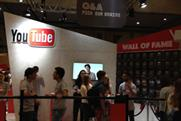 YouTube's dedicated space at Summer in the City 2014