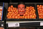 MIC star Spencer Matthews at Sainsbury's Wandsworth amongst the tomatoes