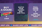 Cadbury: value of shares can go up as well as down