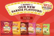 The new Walkers' flavours that will be sampled in the cafe
