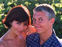 Gary Lineker and Helena Christensen in Walkers' ad