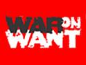 War on Want: hard-hitting drive from Joshua