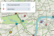 The surprising truth about Waze