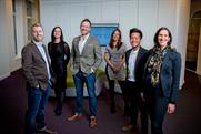 Weve (from left): Tom Pearman, Hannah St Paul, Nigel Clarkson, Katie Bachelor, Nigel Kwan, Keren Blackmore