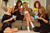 Girls Aloud: at home with Wii