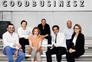Havas Work Club: (left to right) Sandoz, Griffith, De Bonis, Mooge, Bolloré, Brooks and Robertson